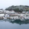 登具湾の雪景色(3)