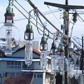 イカ釣り船の集魚灯(1)