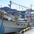 Photos: 二従弟のイカ釣り船
