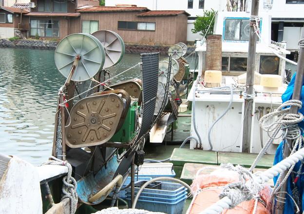 イカ釣り船(2)イカ釣り機