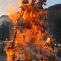 隠岐島後、今津とんど(5)猛燃