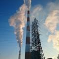 写真: 2月1日(木)の煙突