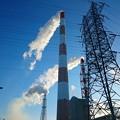 写真: 2月8日(木)の煙突