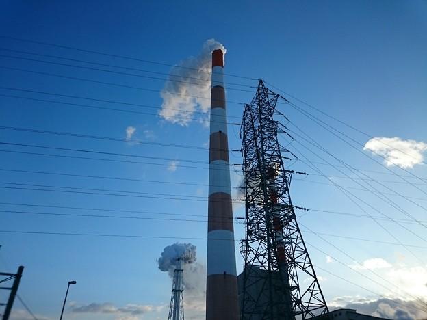 写真: 2月14日(水)の煙突