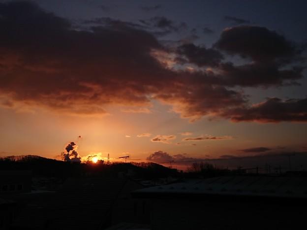 写真: 6月16日(金)の朝陽