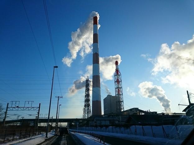 写真: 2月22日(木)の煙突
