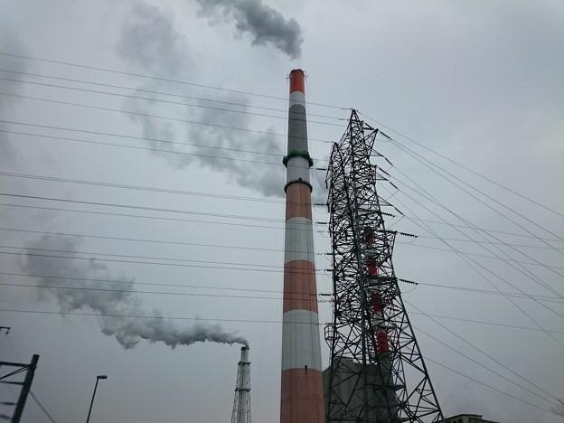 写真: 4月6日(金)の煙突