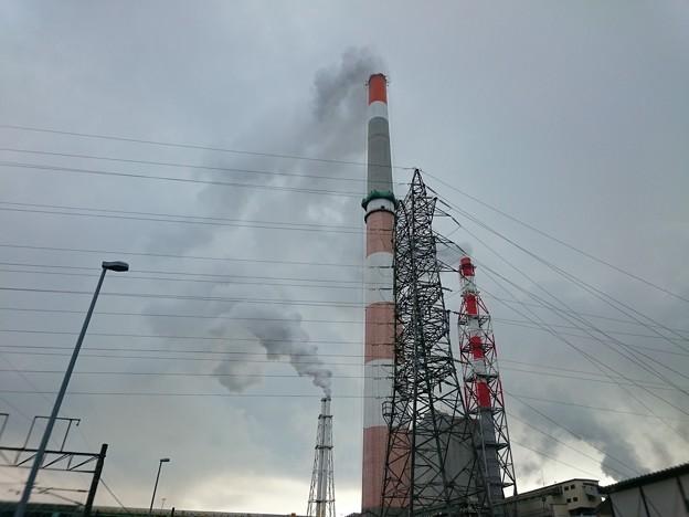 写真: 4月9日(月)の煙突