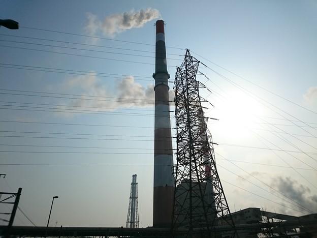 写真: 4月20日(金)の煙突