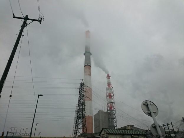写真: 4月24日(火)の煙突