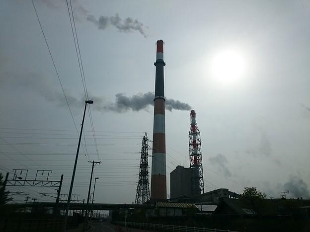 写真: 5月16日(水)の煙突