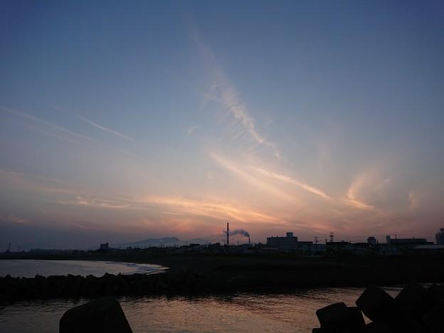 6月4日(月)の夕焼け