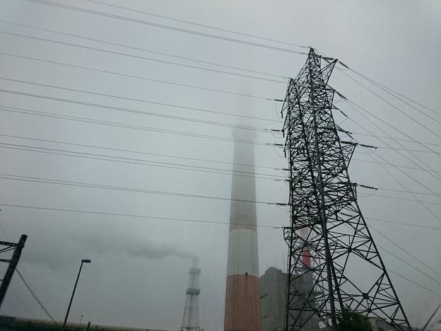 写真: 7月20日(金)の煙突