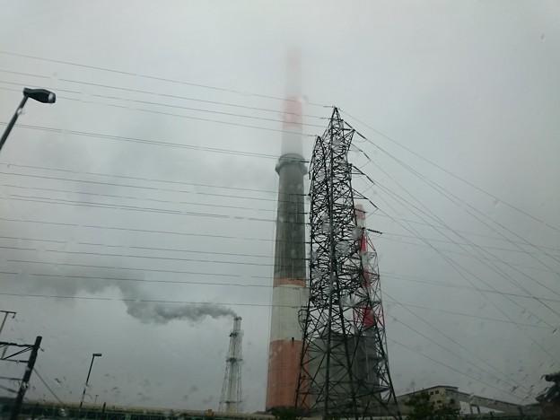 写真: 8月22日(水)の煙突