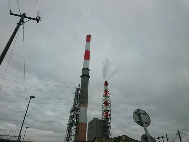 写真: 8月24日(金)の煙突