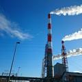 写真: 11月1日(木)の煙突
