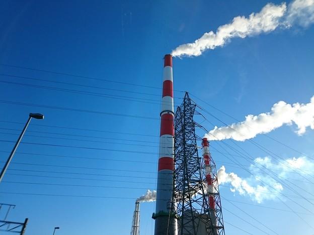 写真: 11月7日(水)の煙突