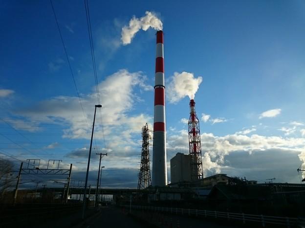 Photos: 11月12日(月)の煙突