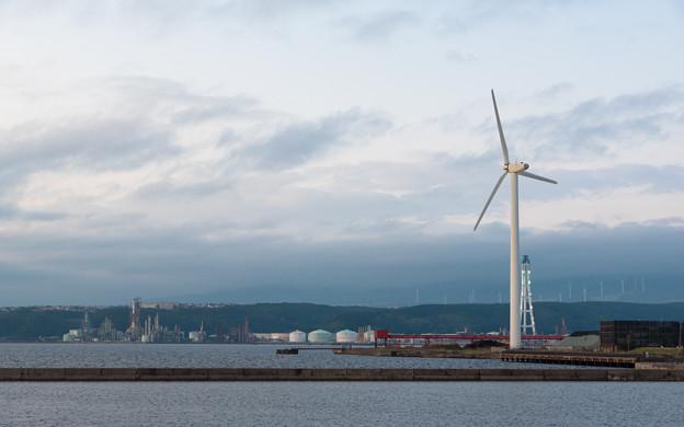 祝津の風車
