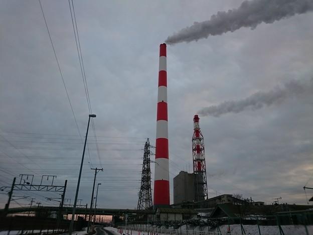 12月23日(月)の煙突