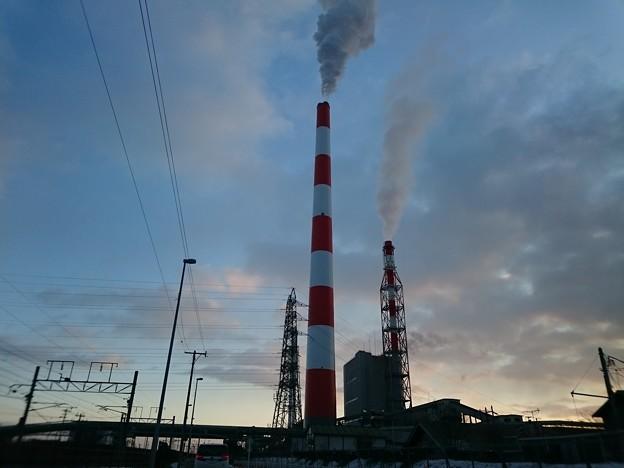 12月25日(水)の煙突