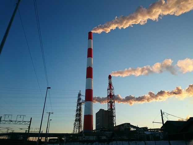 1月10日(金)の煙突