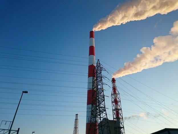 1月15日(水)の煙突
