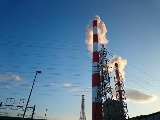 1月17日(金)の煙突