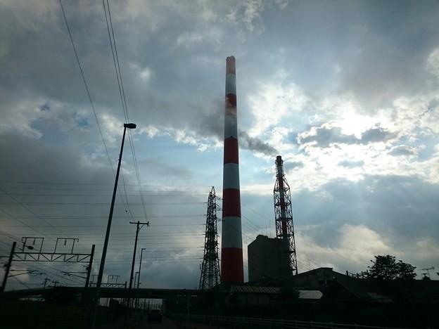 8月19日(水)の煙突