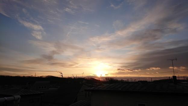 11月25日(水)の朝焼け