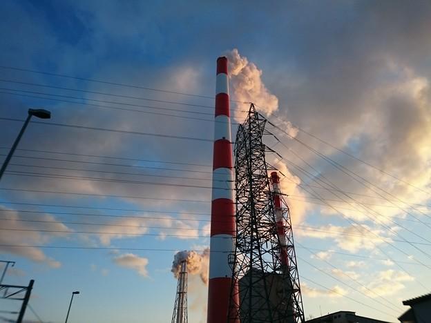 Photos: 12月22日(火)の煙突