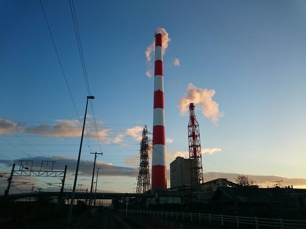 Photos: 12月23日(水)の煙突