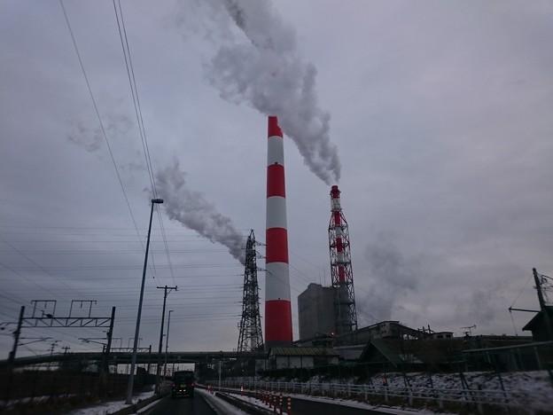 1月12日(火)の煙突