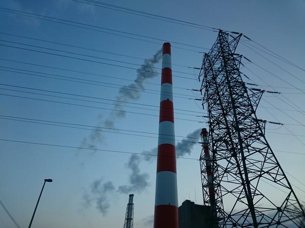 1月14日(木)の煙突