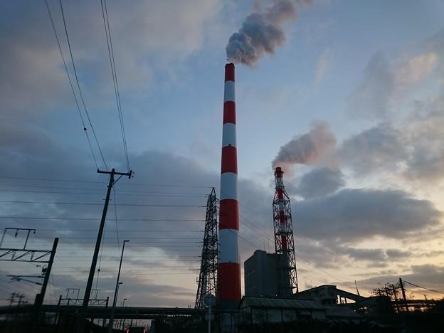 1月15日(金)の煙突