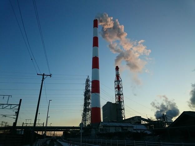 Photos: 1月18日(月)の煙突