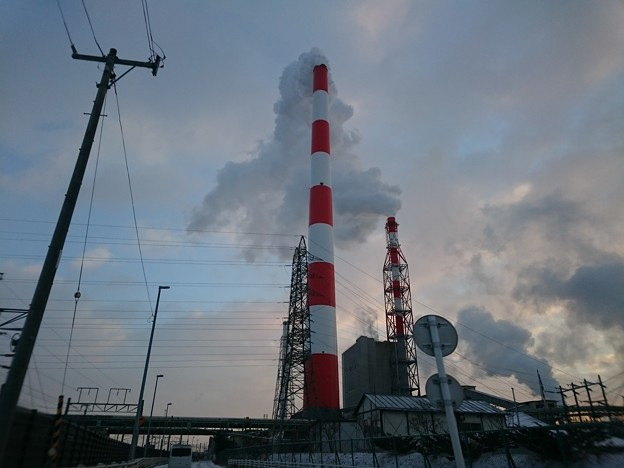 1月20日(水)の煙突
