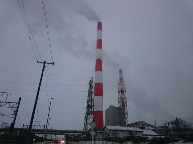 1月21日(木)の煙突