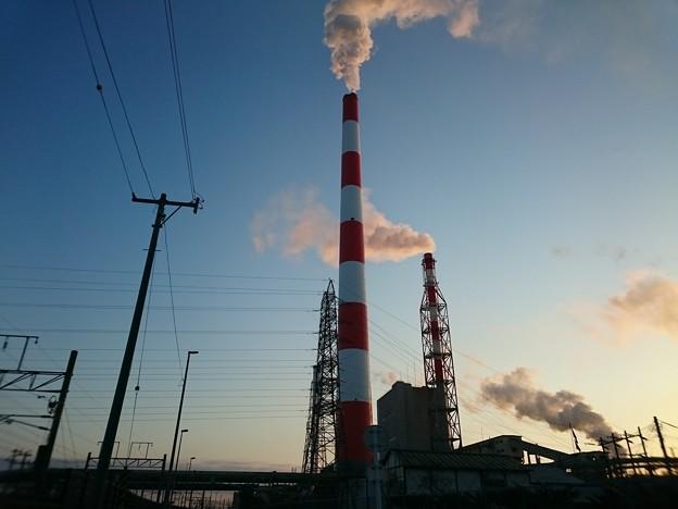 1月25日(月)の煙突