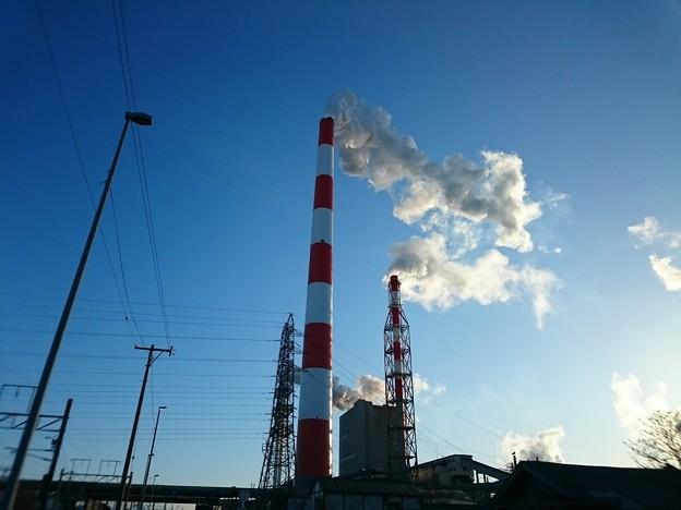 2月9日(火)の煙突