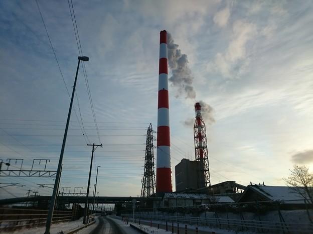 2月19日(金)の煙突
