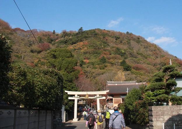 高来神社へ