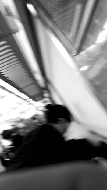 今夜の御堂筋線阪急電車能勢電車。9