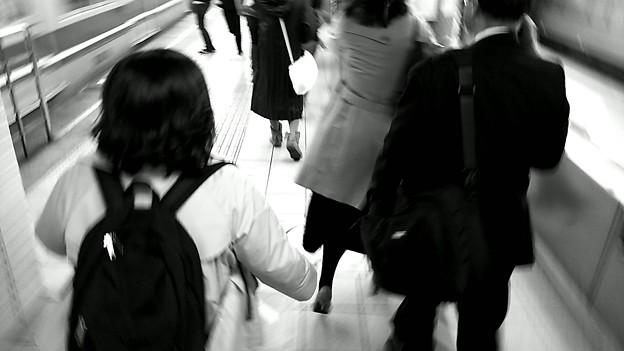 今夜の御堂筋線阪急日生エクスプレス、定期券売場経由~そのいち。4