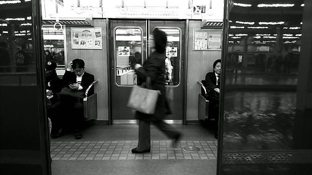 今夜の御堂筋線阪急日生エクスプレス、定期券売場経由~そのに。1