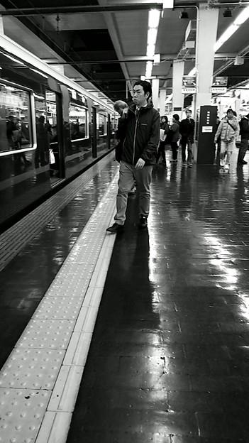 今夜の御堂筋線阪急日生エクスプレス、定期券売場経由~そのいち。9