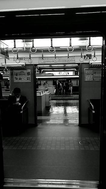 今夜の御堂筋線阪急日生エクスプレス、定期券売場経由~そのいち。10
