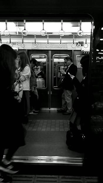 今夜の御堂筋線阪急日生エクスプレス、定期券売場経由~そのに。3