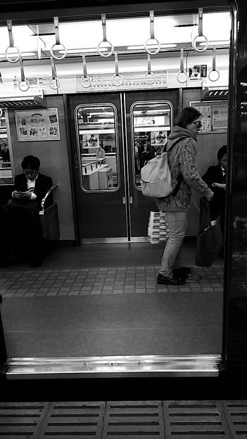 今夜の御堂筋線阪急日生エクスプレス、定期券売場経由~そのいち。11