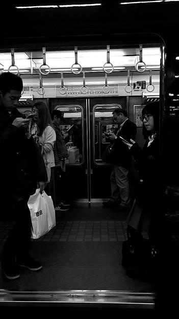 今夜の御堂筋線阪急日生エクスプレス、定期券売場経由~そのに。5